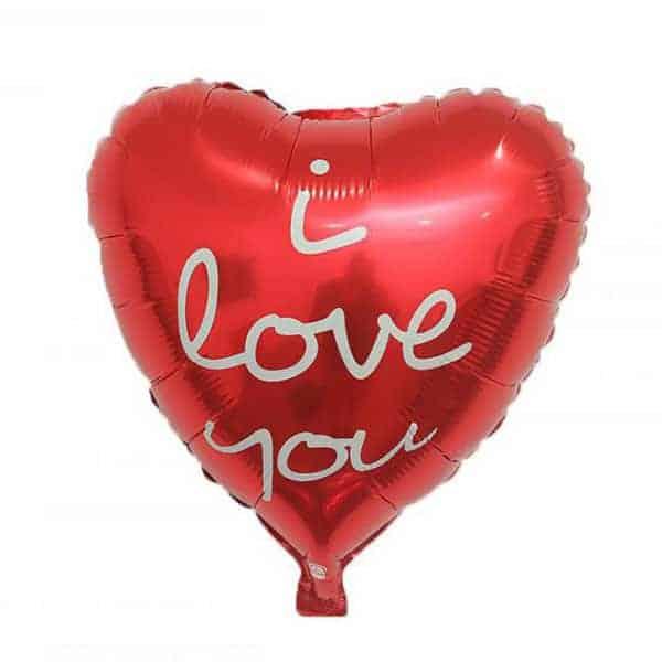 בלון מיילר לב - I LOVE YOU