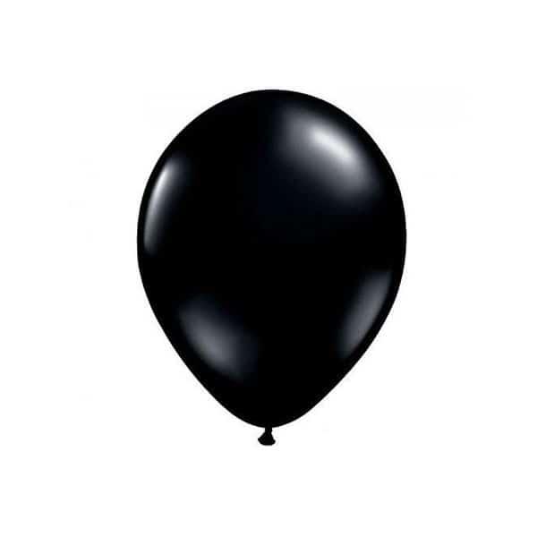 בלון שחור מטאלי