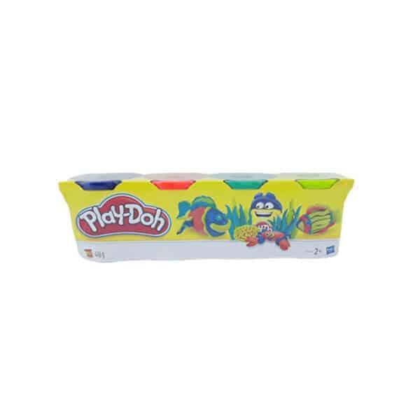 בצק 4 צבעים - פליידו Play-Doh