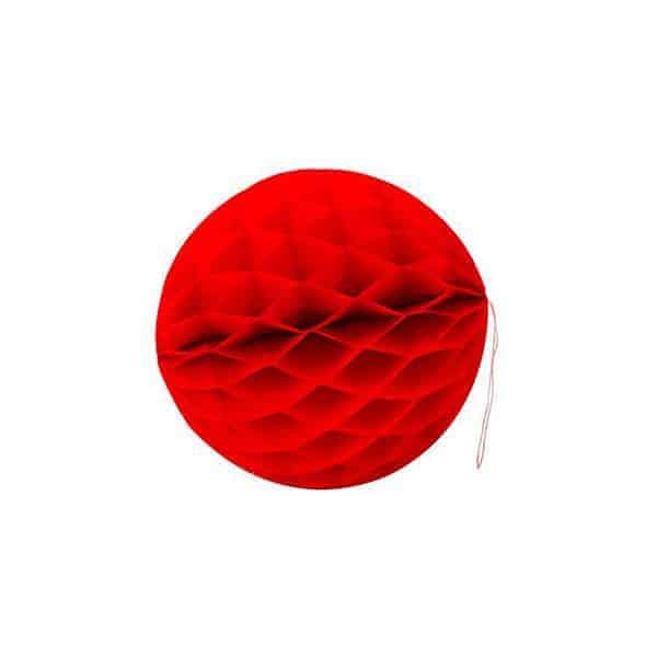 כדור תליה קטן - אדום