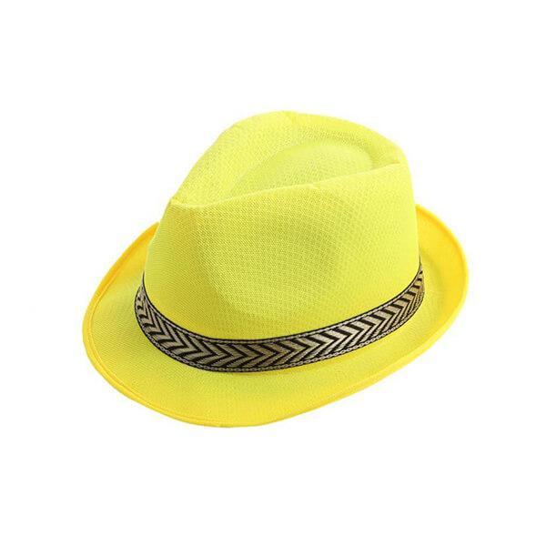 כובע ג'נטלמן צבעוני