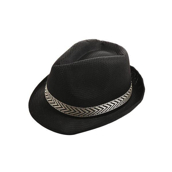 כובע ג'נטלמן קלאסי שחור
