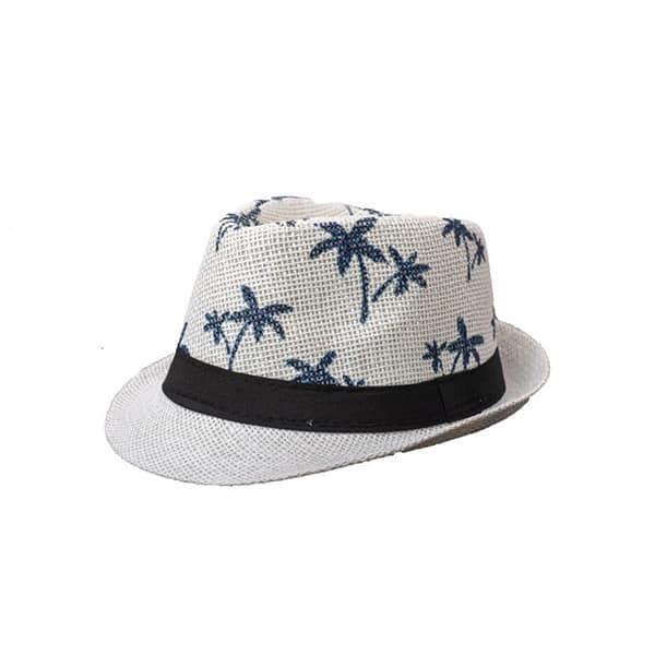 כובע-ג'נטלמן-קש-שמנת---עלי-דקל