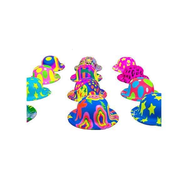 כובע-מיני-מקושקש---צבעים-זוהרים