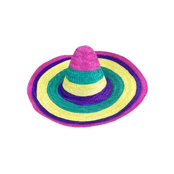 כובע-סומבררו-מקסיקני-צבעוני
