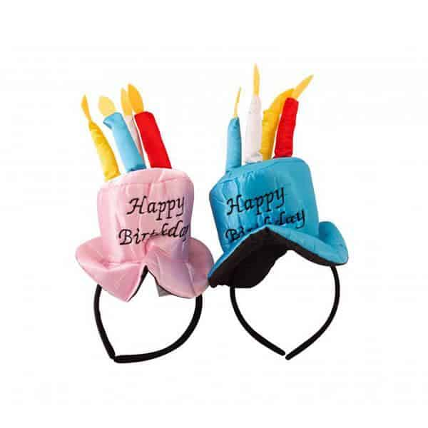 כובע עוגת יום הולדת שמח