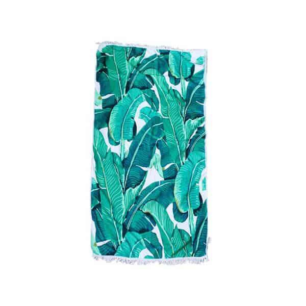 מגבת-טרופית---ירוקה