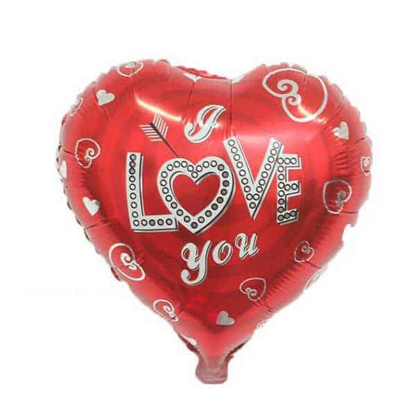 מיילר לב אדום - I LOVE YOU