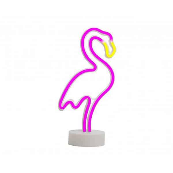 מנורת ניאון פלמינגו
