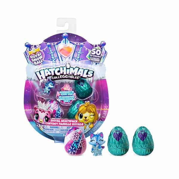 Hatchimals-Royal-Snow-Ball----רביעיית-האצ'מלס-רואיל-לנשף