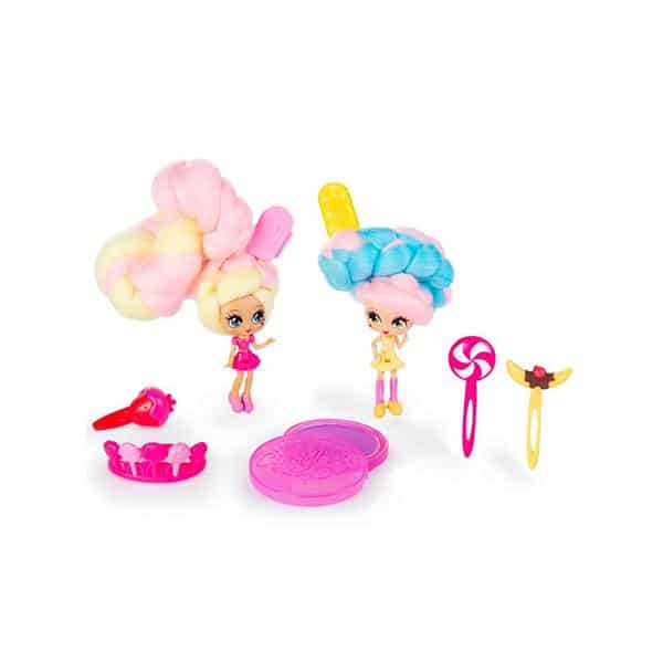 Candylocks - מלכת הממתקים BFF 2-Pack Kerry Berry and Beau Nana