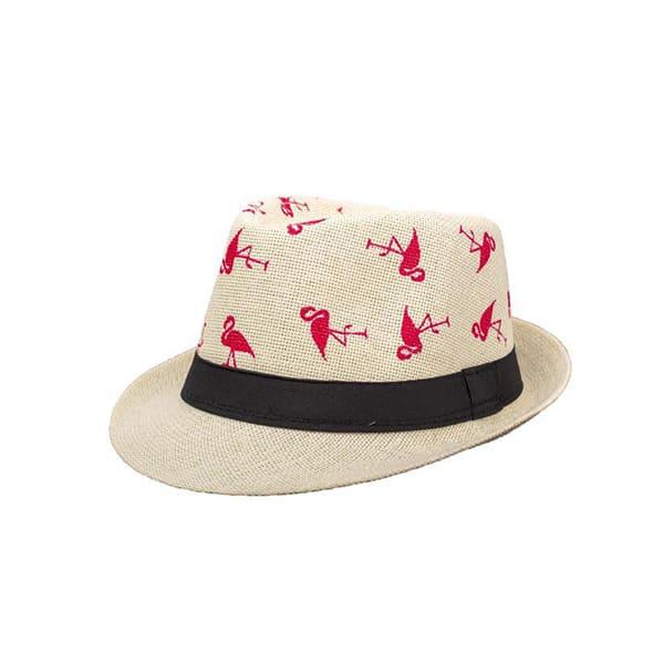 כובע-קש-פלמנגו---שמנת
