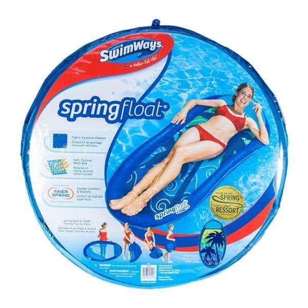 מזרון ים רשת מתקפל - SWIM WAYS spring float