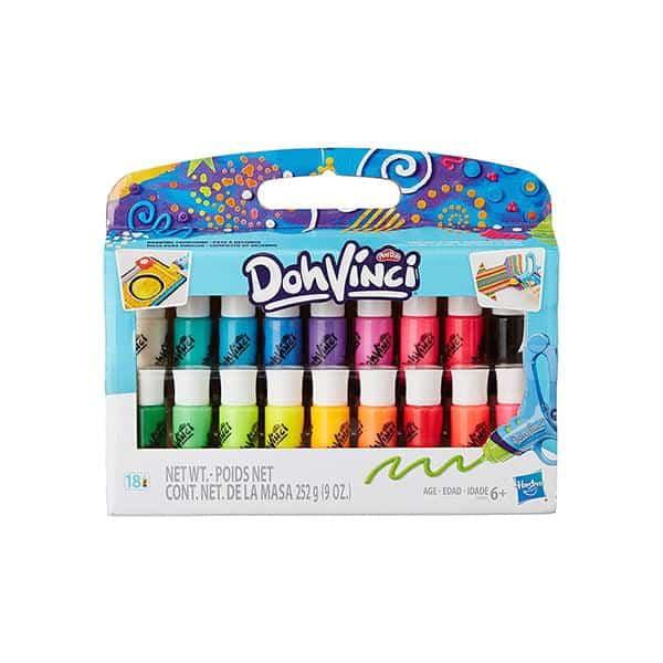 ערכת מילוי פליידו -Play-Dho 18 צבעים