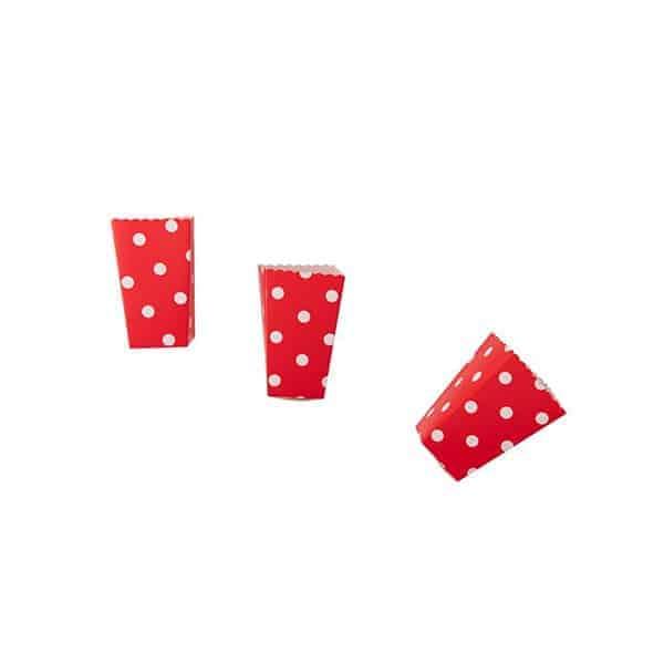 קופסאות-פופקורן-אדום-נקודות