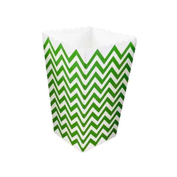 קופסאות-פופקורן-זיגזג-ירוק-לבן