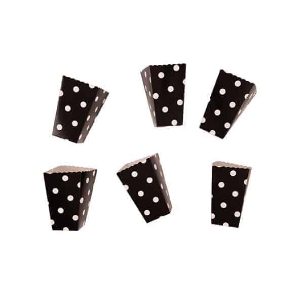 קופסאות-פופקורן-שחור-נקודות