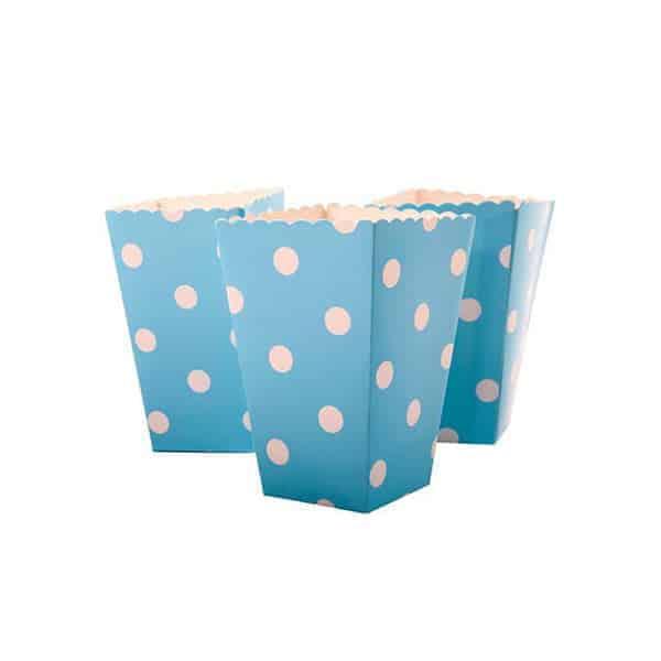 קופסאות-פופקורן-תכלת-נקודות